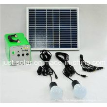 Power Solution 10W Solar Power System for Lighting Area