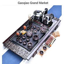 Hand Painted Ceramic Whole Tea Set Tea Cups With Wood Carving Tray&Grace china Porcelain Tea sets