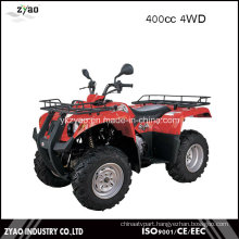 Shaft Drive Transmission System and CVT Transmission Type Quad 400cc ATV