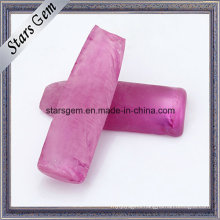 Pink Ruby Synthetic Gemstone Rough