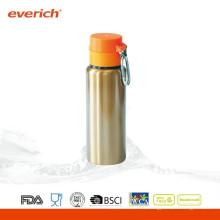 Bouteille de boisson en métal en acier inoxydable promotionnelle à la sueur