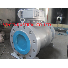 Trunnion Rtj Flange Metal Sealball Valve