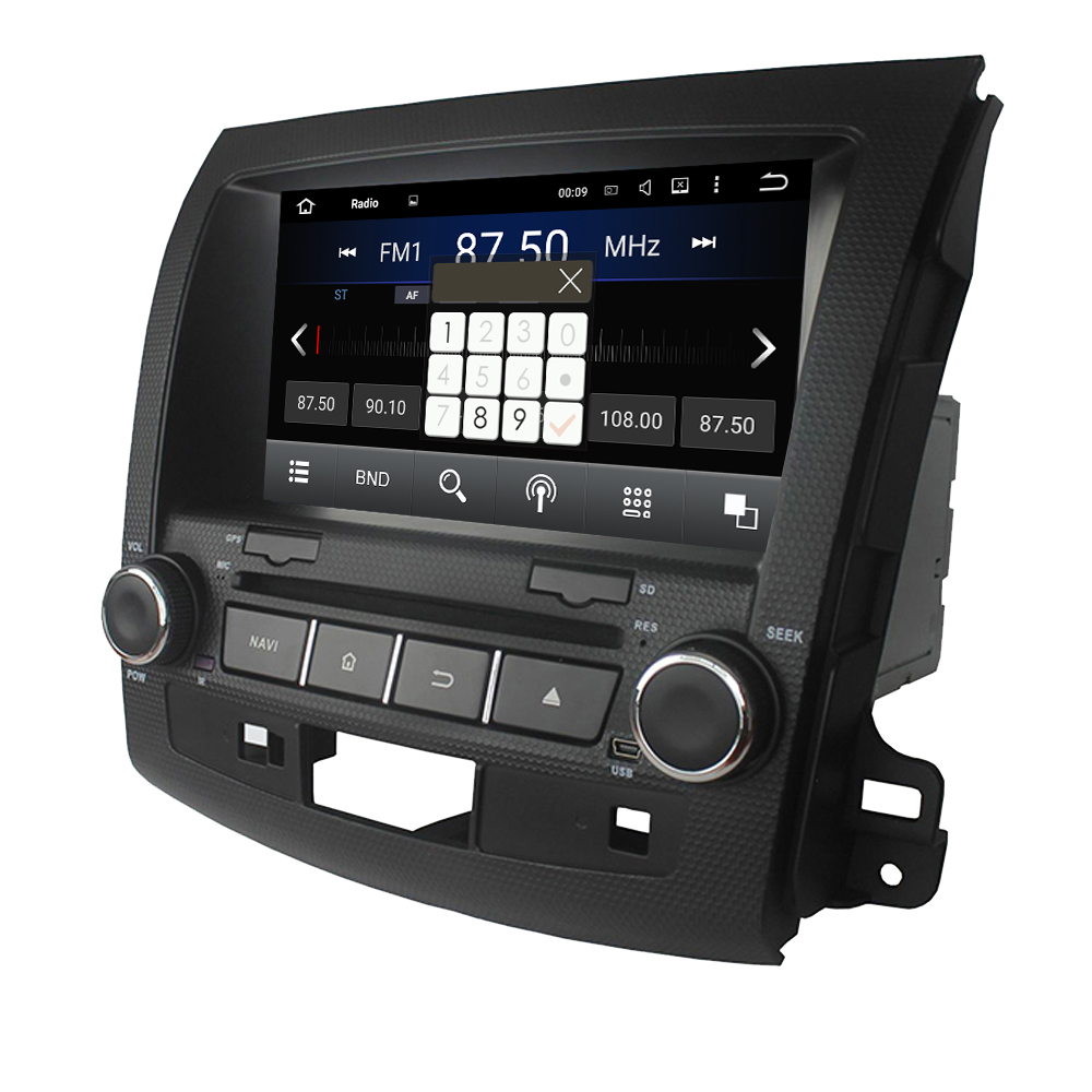 Mitsubishi Outlande Android 7.1 car dvd player