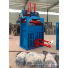 Large hydraulic baler for waste paper vertical baler