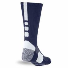 Kundenspezifische Baumwollbasketball-Socken