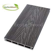 Cheap and Popular Emboss WPC Decking