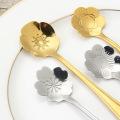 Stainless Flower Shape  Stir Spoon  Custom