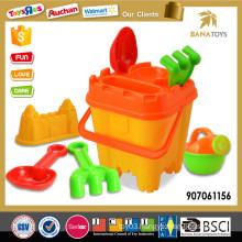 Whosale plastic beach buckets toy