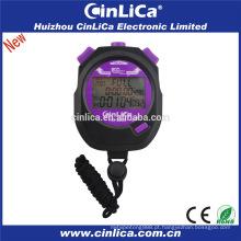 HS-2200 200 voltas de memória digital cronômetro despertador cronômetro mini