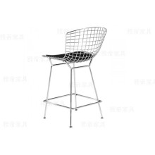 Classic Harry Bertoia Stainless Steel Barstool
