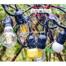 Luces de cadena al aire libre Set Iluminación comercial de filamento Edison SLT600