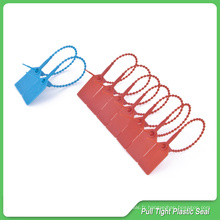 Étiquette en plastique, longueur 230 mm, joints ajustables en plastique, joints en plastique