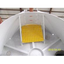 Tanque FRP o fibra de vidrio para aplicaciones farmacéuticas