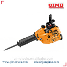 Disjuntor de demolição de gasolina de 95mm 52cc 1700w qimo power tools