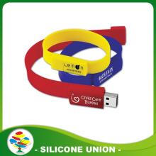 Wholesale Cheap Silicone 1-32GB USB Bracelet