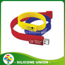 Wholesale Cheap Silicone 1-32GB USB Bracelet