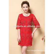New fashion clothing half sleeve new model casual dress for ladies and women