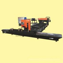 Máquina de corte de láser de madera redonda / Máquina de corte de láser de diámetro