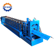 Color Sheet Ridge Cap Roof Tile Making Machine