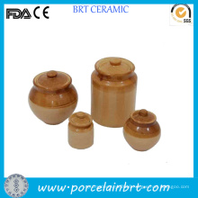 Classical Different Shape Ceramic Pickle Jar
