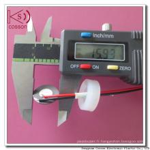 16mm 1.7MHz Atomiseur ultrasonore piézoélectrique