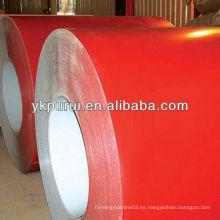 Material de construcción de bobinas de chapa de acero de color para la construcción