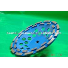 Алмазный двухрядный шлифовальный диск для бетонных полов