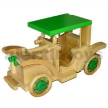 Modelo de coche de vehículo de madera (81436)