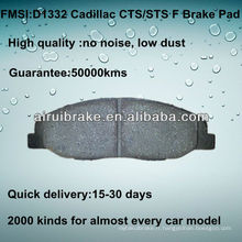 D1332 Frein Pad pour Cadillac CTS 2008-2012 F