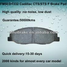 D1332 Pastilha de travão para Cadillac CTS 2008-2012 F