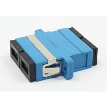 SC / PC Siglemode Duplex Adaptador de Fibra Óptica com Flange