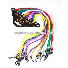 cabos de óculos de moda colorida