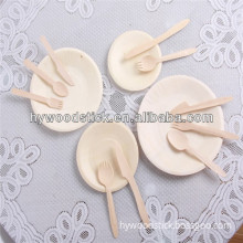 Healthy and Food Safety Wooden Utensils for Restaurant (HYWS-0023)
