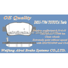 D831-7704TOYOTA Acessórios para peças de carro Yaris