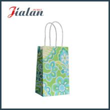 Bolsa de papel artesanal para artesanato