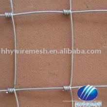 clôture de maille galvanisée