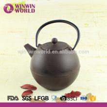 Japanische Roheisen-Teekanne / Teaset 1000ML, kundenspezifisches Logo-weißes / schwarzes Logo