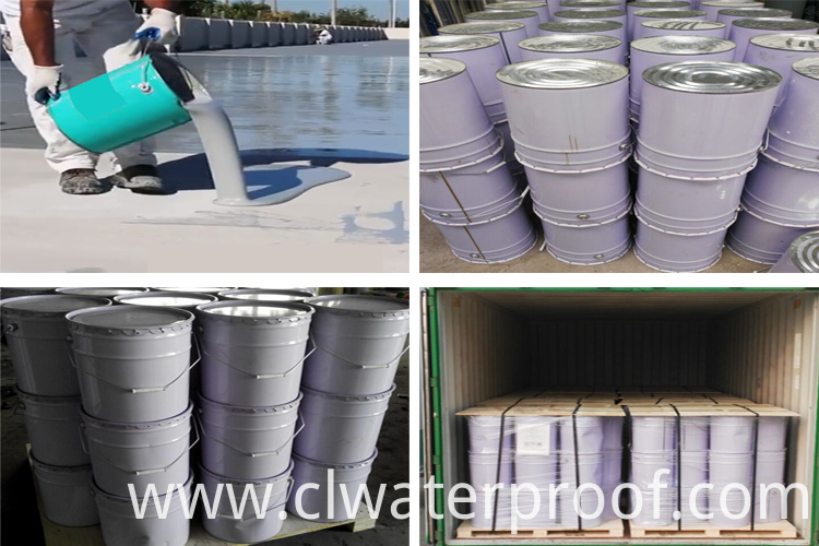 Exposed waterproof coating /Waterbase waterproofing coating