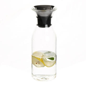 Glass Water Milk Carafe Clear Beverage Bottles