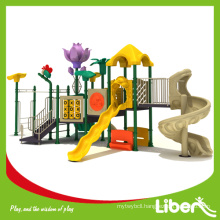 Plastic Components New Kids Play Structure with Free Useful Instalation Instruction