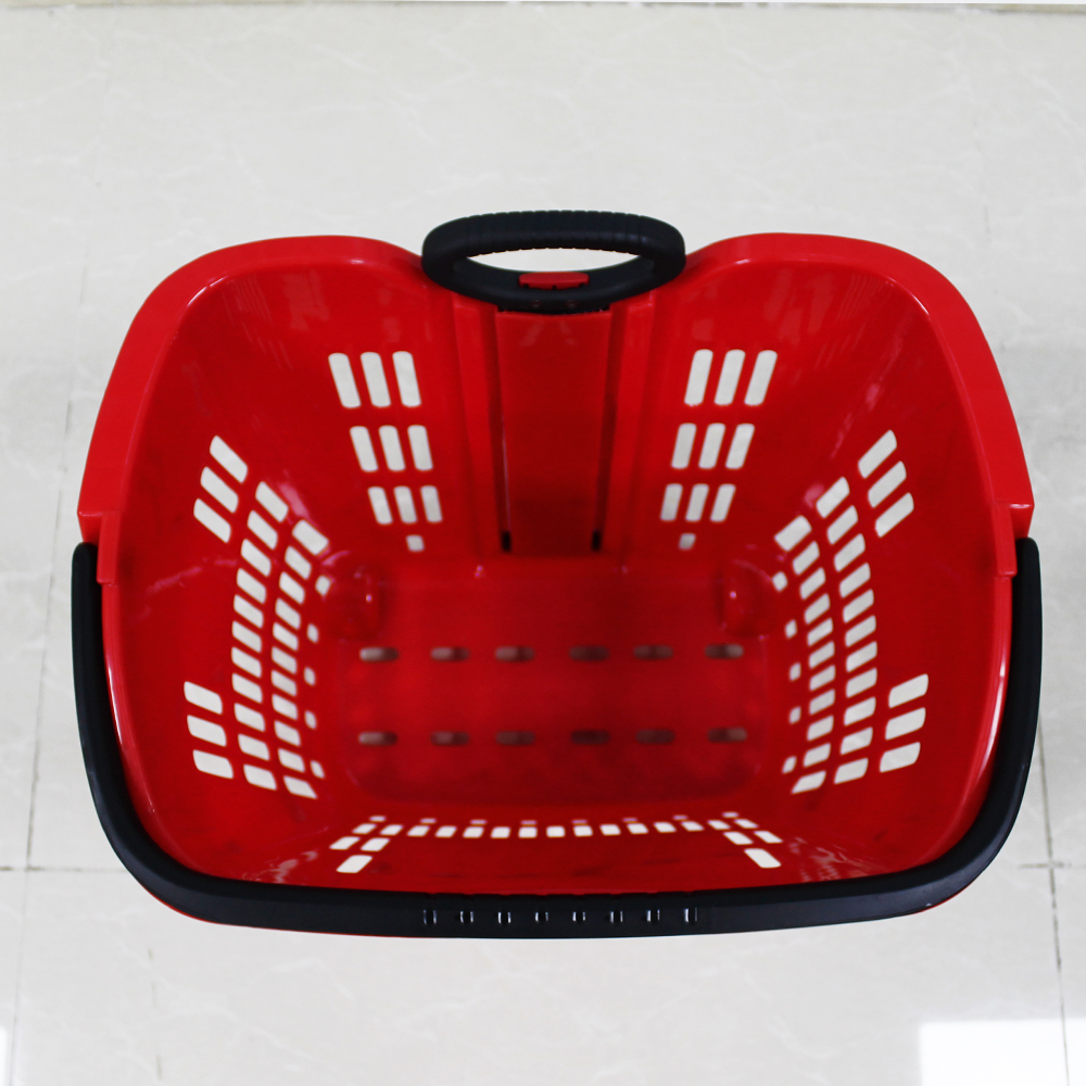 Shopping Basket With 2 Wheels