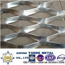 Malla metálica expandida de aluminio utilizada para la pantalla