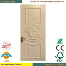 Puerta de madera piel puerta de madera fábrica madera puerta de la oficina