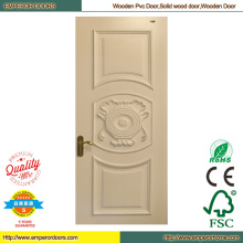 Деревянная дверь кожи деревянные двери фабрика Office деревянная дверь