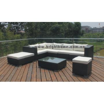 Combined Sofa Set Wicker Outdoor Garden Furniture Bg-011