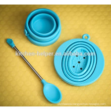 FDA China Professional Manufacturer/Supplier/Maker Food Grade Silicone Collapsible Coffee Dripper,Silicone Coffee Filter