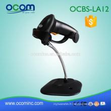OCBS-LA12-RW rs232 noir futur-proofing tablet pc code à barres scanner