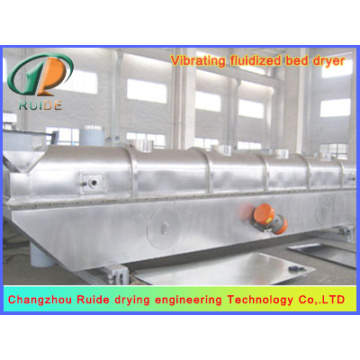 Vibrating fluidized bed dryers for boletic acid