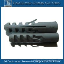 Anclas de pared plásticas de Nylon PE M5-M14