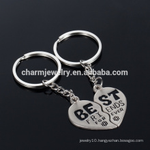 "Best Friend Key chain wedding gifts ""best ""couple key chain key chain for lover YSK011"